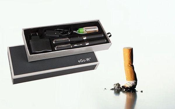 2x elektronická cigareta eGo-W 650mAh - vyzkoušejte vylepšenou verzi oblíbené cigarety eGo