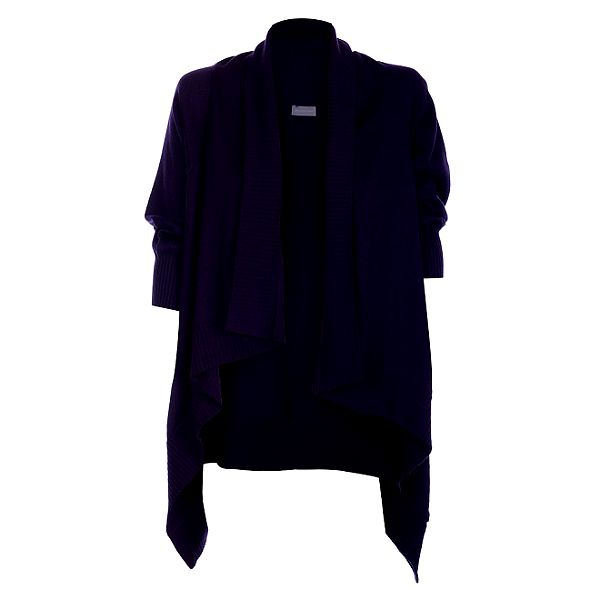 Dámský tmavě fialový kardigan Pietro Filipi