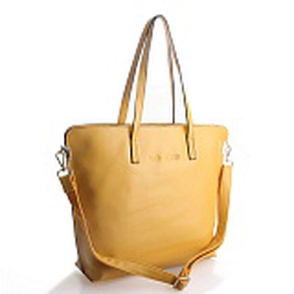 Dámska žltá kabelka Belle & Bloom