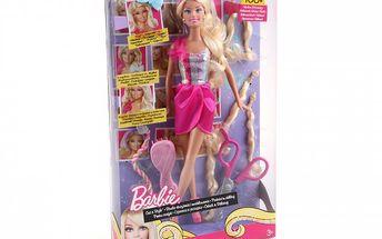 Barbie Senza sestřih pro malé kadeřnice. Nůžky jsou součástí balení.