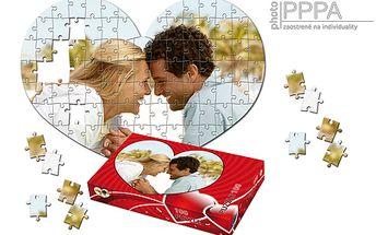 PUZZLE vyrobené z vašej fotografie so zľavou 50% - obdarujte svoju láskou netradičným darčekom! Vaše fotografie sa premenia na puzzle, ktorého skladanie vám pripomenie krásne momenty!
