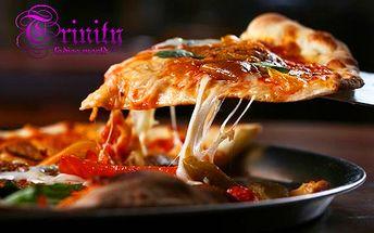 Chrumkavá a čerstvá PIZZA podľa vašej chuti v Trinity Clube len za 1,50 €! Príďte si vybrať z viac ako 16 druhov talianskej pizze! Skvelý tip na obed či večeru!