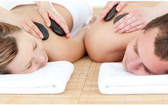 Partnerská lávová masáž v 60 minutách!