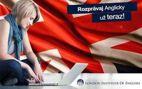 Online jazykový kurz od prestížneho London Institute so zľavou 91%! Bezplatný vstupný test, 6 úrovní, na mieru ušitý program a medzinárodný certifikát London Institute of English!