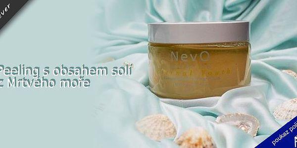 Luxusní kosmetika NevO Dead Sea SPA s obsahem solí z Mrtvého moře !!! NevO Dead Sea SPA odhalí přirozený jas Vaší pleti a podtrhne Vaši jedinečnou krásu ! Podle zkušeností spotřebitelů výrobky NevO působí velice příznivě i na pacienty s lupénkou. Cena včetně poštovného