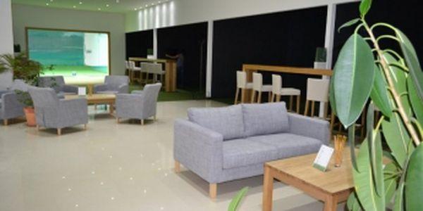 Navštivte nový Golf Indoor Center Prague v Horních Měcholupech a zahrajte si 2x 60 min. na golfovém simulátoru až pro 4 osoby!