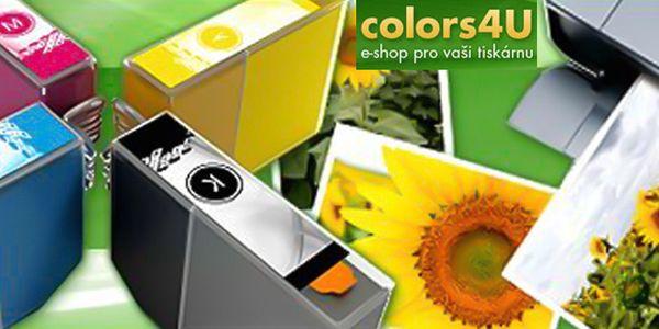 Sada černých a barevných cartridgí Epson