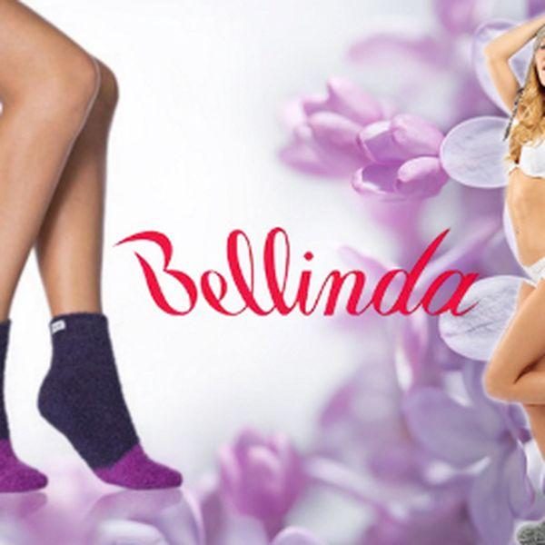 Měkoučké ponožky Bellinda za 199 Kč! 4 páry v balení!