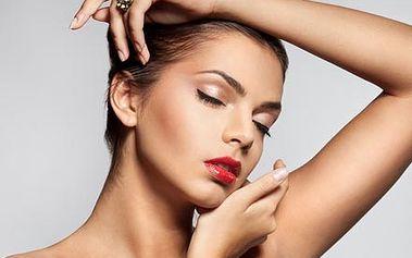 Hodinové kosmetické ošetření pleti 7v1, včetně hloubkového čištění, liftingu, zapracování ampule a masky.