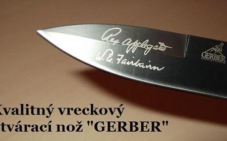 """Vreckový otvárací nôž """"GERBER"""" teraz so zľavou 59%!!!"""