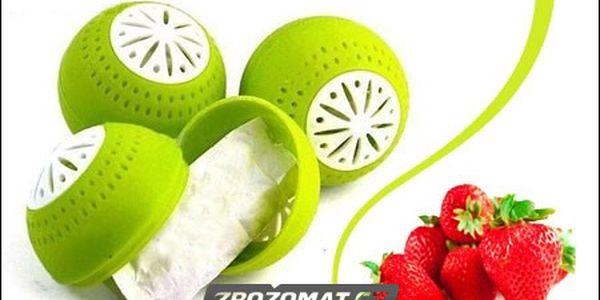 Míček do ledničky - 3 ks - už žádná zkažená zelenina a ovoce!
