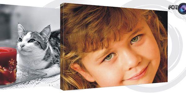 Kvalitní fotoobraz na plátně v několika formátech