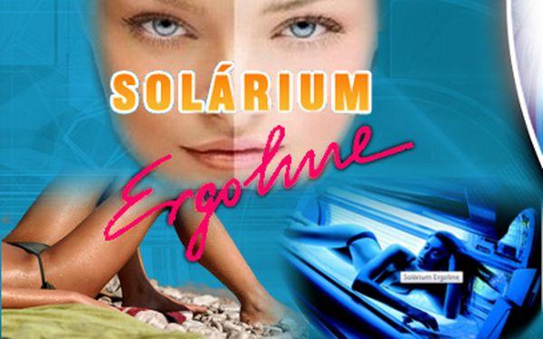 Permanentka do solária nabitá na 900 Kč jen za 299 Kč!