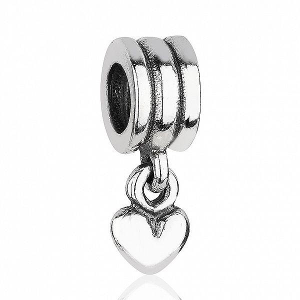 Stříbrný přívěsek Pandora srdce