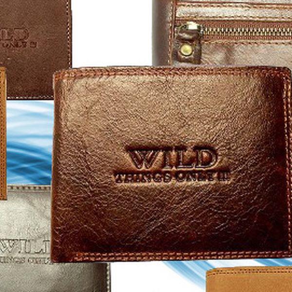 Pánská kožená peněženka Wild za 249 Kč! Výběr z 15 designů!