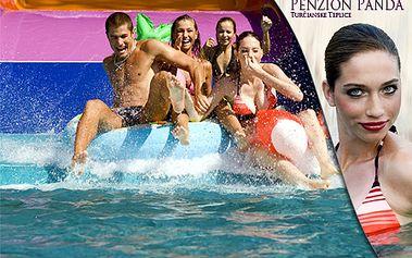 3-dňový pobyt pre 2 osoby s bohatými raňajkami v penzióne Panda v Turčianskych Tepliciach! V cene aj vstup do obľúbeného Spa & Aquapark vzdialeného len 80 m od penziónu!