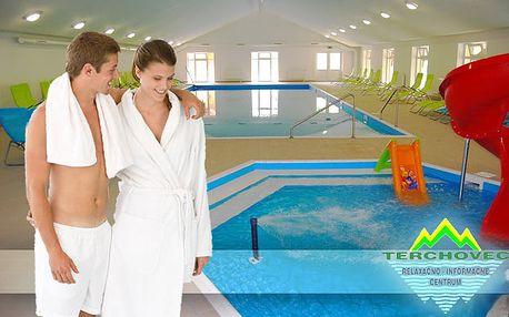 Dvojhodinový vstup pre 1 osobu do relaxačného centra Terchovec len za 5,50€. Bazény, vírivky, sauny a mnoho ďalších športových aktivít so 42% zľavou.