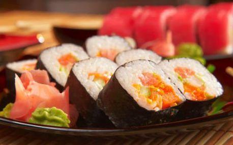 Chcete umět sushi? Pojďte do 2,5hodinového kurzu!