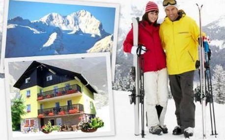 Lyžování ve slovinských Julských alpách!