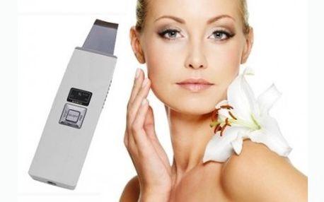 Kosmetický ultrazvukový čistič pleti KD8020 se slevou 60%!!! Pomocí ultrazvukového čističe obnovíte elasticidu a zašedlost vaší pokožky, která se tak stane jemnější a svěží!
