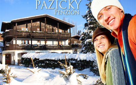 Len 60 € za 3-dňovú lyžovačku s ubytovaním v penzióne Pažický v Starej Lesnej! V cene aj kontinentálne raňajky a pri 4 a 7-dňovom pobyte aj 30% zľava na skipas!
