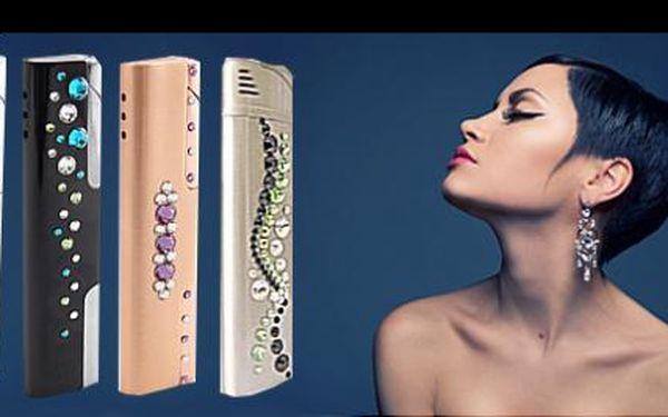 299 Kč za plnící zapalovač se SWAROVSKI ELEMENTS. Luxusní, funkční dárek pro ženy elegantního designu!