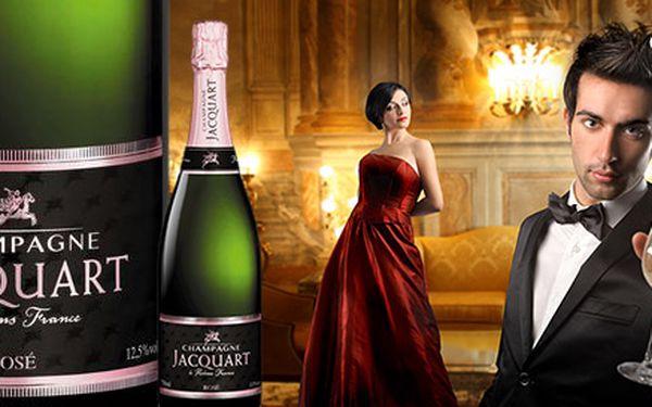 Luxusní šampaňské Jacquart Rosé Brut