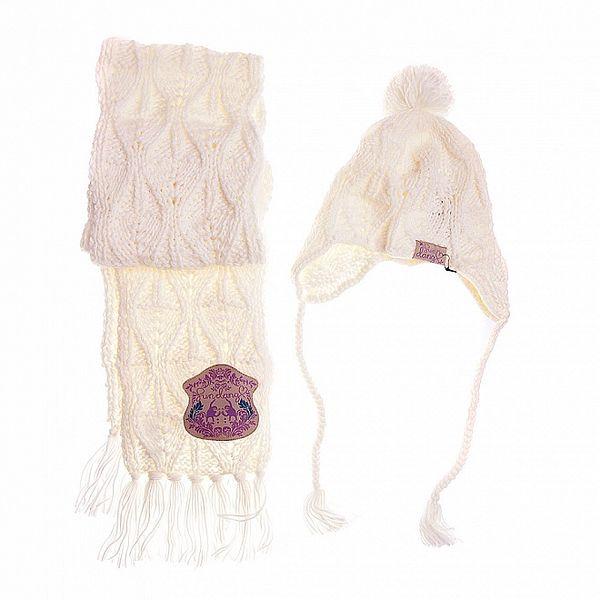 Dámský krémový pletený set Fundango