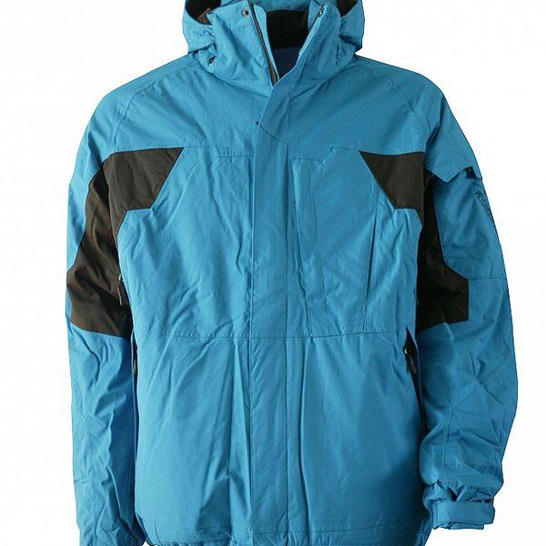 Pánska svetlo modrá zimná bunda Fundango s membránou