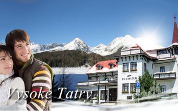 5 DNÍ ve VYSOKÝCH TATRÁCH v krásném hotelu Villa Dr. Szontagh*** jen za 2 496 Kč s POLOPENZÍ! Sleva 52% a navíc úžasné BONUSY k pobytu ve formě dalších slev!