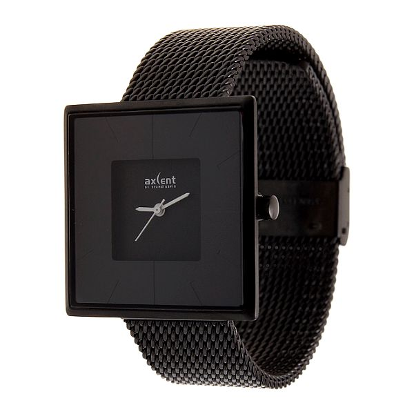 Dámske čierne náramkové hodinky Axcent