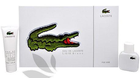 Lacoste Eau De Lacoste L.12.12 Blanc - toaletní voda s rozprašovačem 30 ml + sprchový gel 50 ml