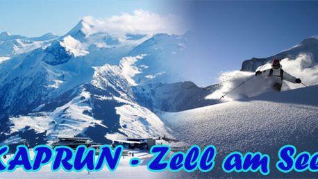 Kaprun - Zell am See - jednodenní lyžování + skipas za 1790 Kč!