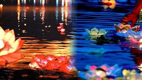 Lampiony - plovoucí lotosy na vodu za 99 Kč!