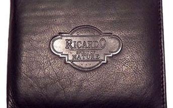 Pánská KOŽENÁ PENĚŽENKA z hovězí kůže – kolekce RICARDO 2012 za 349 Kč! Moderní barvy a různé designy
