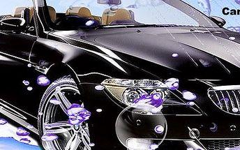 Ručné umytie exteriéru a interiéru vášho auta
