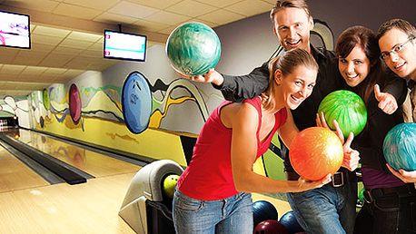 Bowling na 1 hodinu pre 1 až 8 osôb