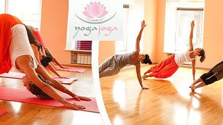 5 lekcí jógy v Yogajoga – výběr z 10 stylů