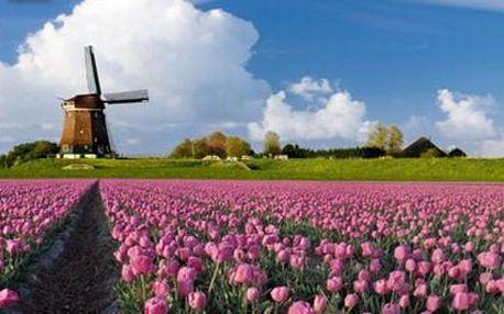 Rozkvetlé Holandsko! 4 denní zájezd za skvělou cenu!