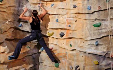 Kurz lezení na umělé stěně PRO DVA!