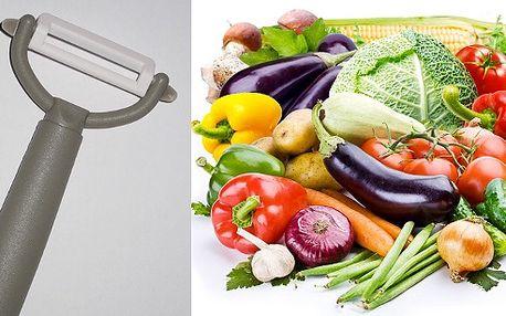 Keramická škrabka na ovocie a zeleninu teraz so zľavou až 55%!!!