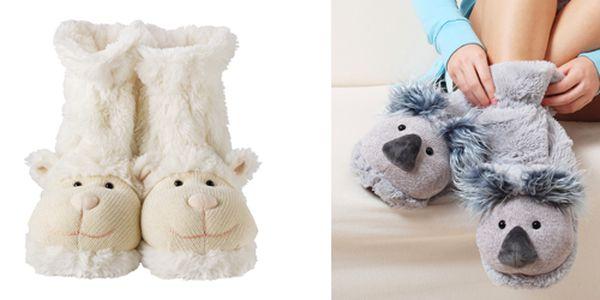 """Pohodlné a roztomilé """"ponožkové bačkory"""" za pouhých 349 Kč! Krásný dárek pro chvíle relaxace - měkké ponožkové bačkory. Ideální pro chladná zimní rána či pro večerní posezení u TV! Vtipný design je zárukou dobré nálady při jejich nošení!"""
