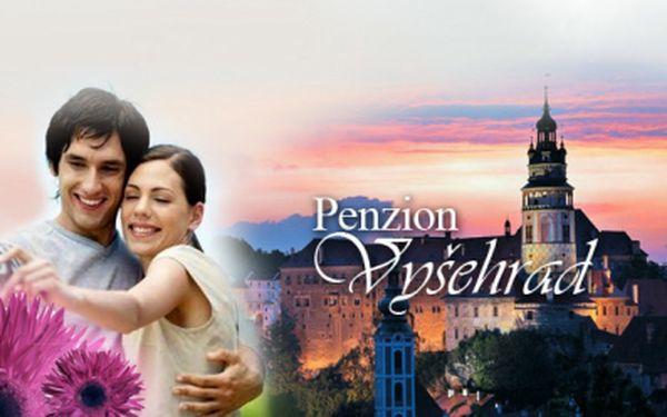 Český Krumlov! Ubytování na 3 dny s POLOPENZÍ PRO DVA + láhev vínka na uvítanou za báječných 1 360 Kč! Prožijte romantiku v jednom z našich nejkrásnějších měst!