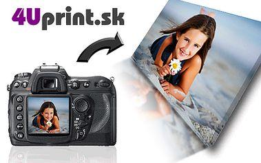 Krásne momentky z dovolenky budú s vami po celý rok! Tlač vašich fotografií na umelecké plátno s napnutím na drevený rám so závesným systémom len teraz za polovičné ceny!