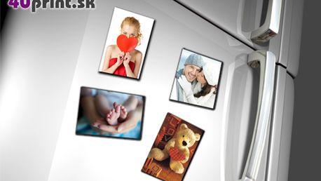 Vytvorte si originálne magnetky z vlastných fotografií! Sada 4ks fotomagnetiek od 4UPRINT.sk! Na výber aj valentínsky rámik - potešte blízku osobu milým prekvapením!
