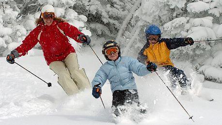 DVA celodenní skipasy do ski areálu Avalanche v Hrubém Jeseníku za cenu jednoho