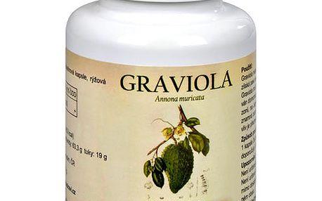Podpořte imunitu silou z Amazonie. Graviola (Annona muricata) 90 kapslí 2 balení