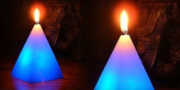 Kouzelná svíčka měnící barvy! Se slevou 71 %!