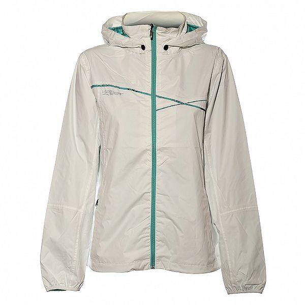Dámská bílá bunda Loap s kapucí