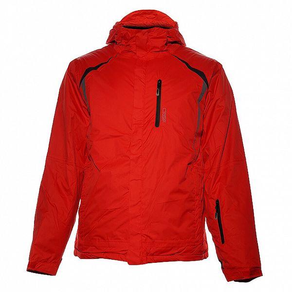 Pánská červená lyžařská bunda